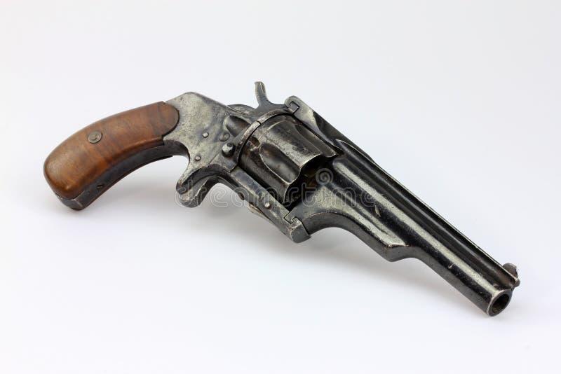 Revolver antique image stock