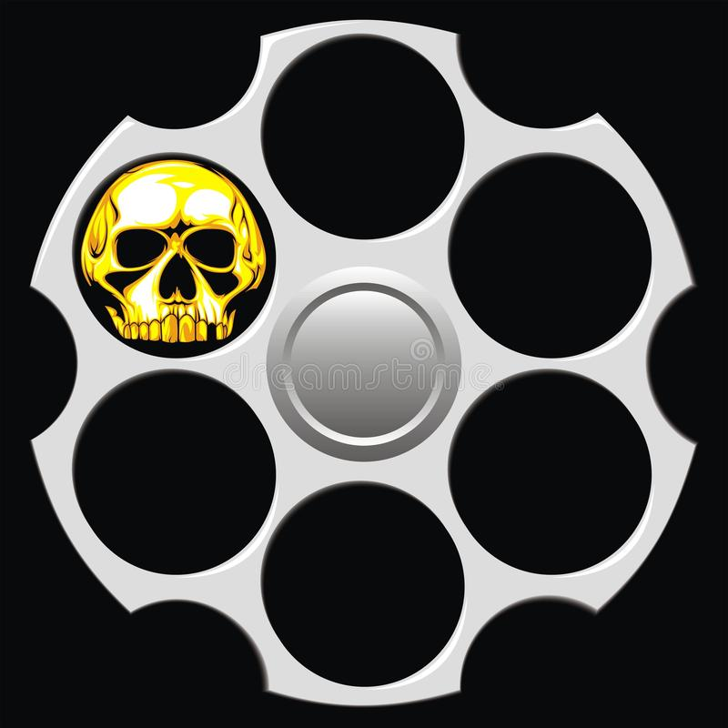Download Revolver Cylinder Royalty Free Stock Photos - Image: 31377618