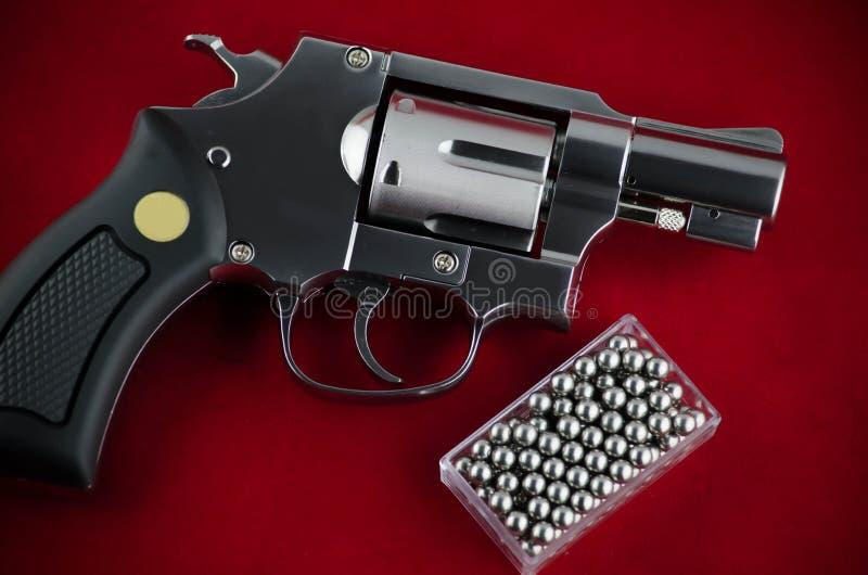 Revolver della pistola di BB immagini stock