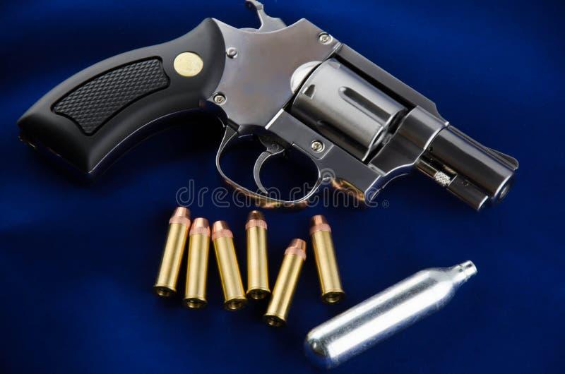 Revolver della pistola di BB fotografia stock