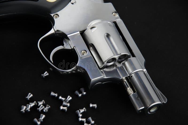 Revolver della pistola di BB fotografia stock libera da diritti