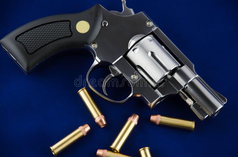 Revolver della pistola di BB immagine stock