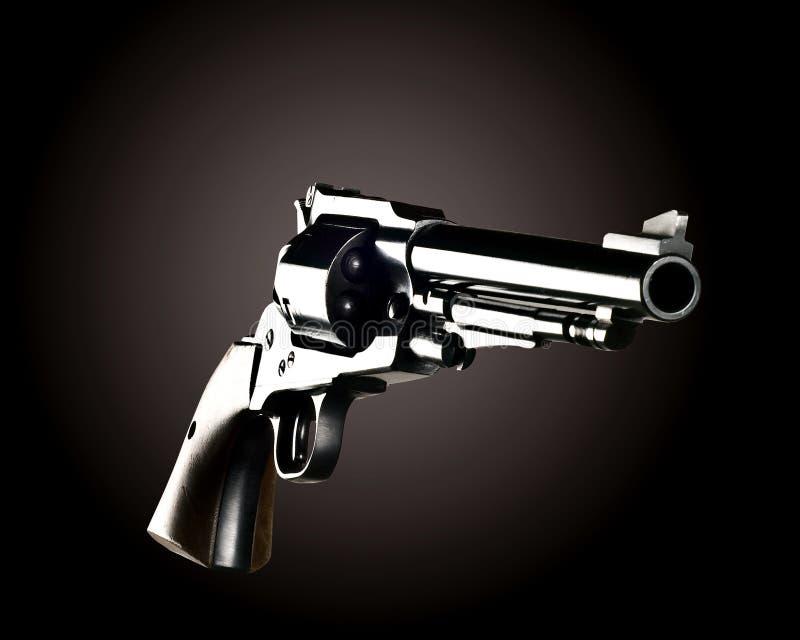 Revolver för svart pulver royaltyfria bilder