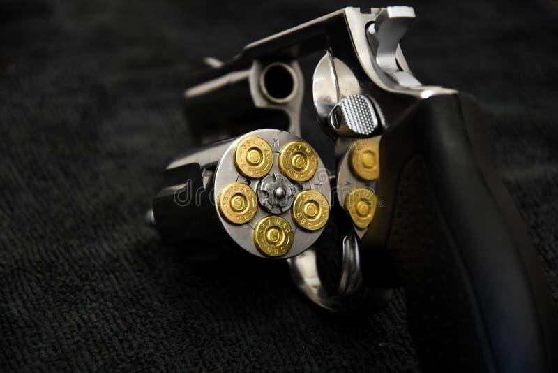 Revolver Taurus Magnum 357 photographie stock libre de droits