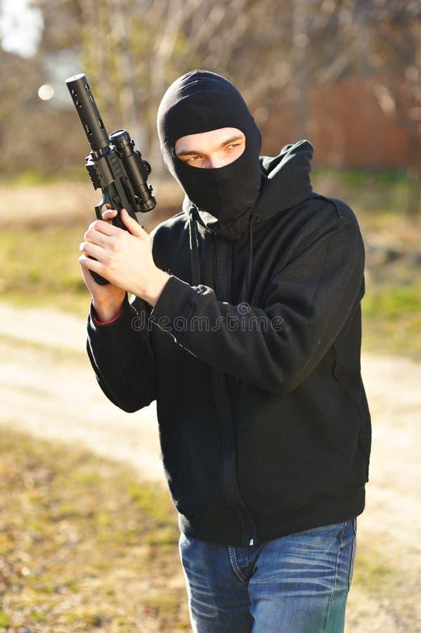 revolverman arkivfoton