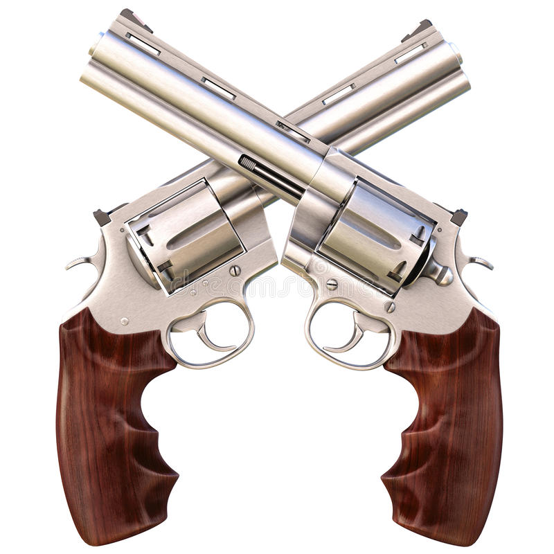 Free Revolvers Royalty Free Stock Photography - 22753947