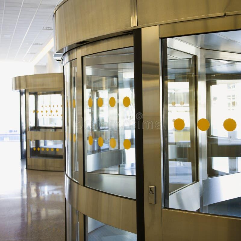 Download Revolving door. stock image. Image of photograph, indoors - 2431231