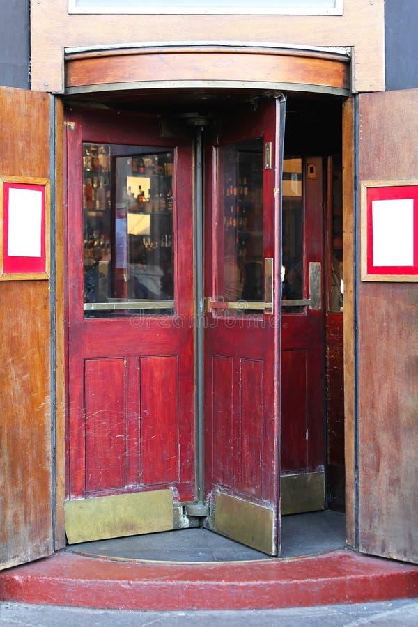 Download Revolving door stock image. Image of door, caffee, wooden - 27828745