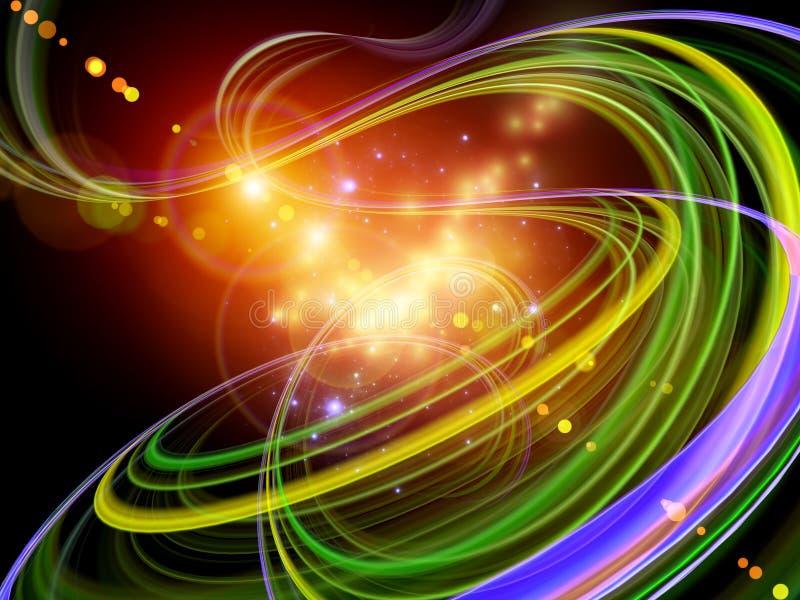 Download Revolving light trail stock illustration. Image of coil - 23354106