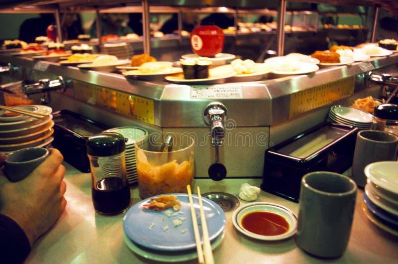 Download Revolving Sushi Bar In Tokyo Editorial Stock Image - Image: 16369319