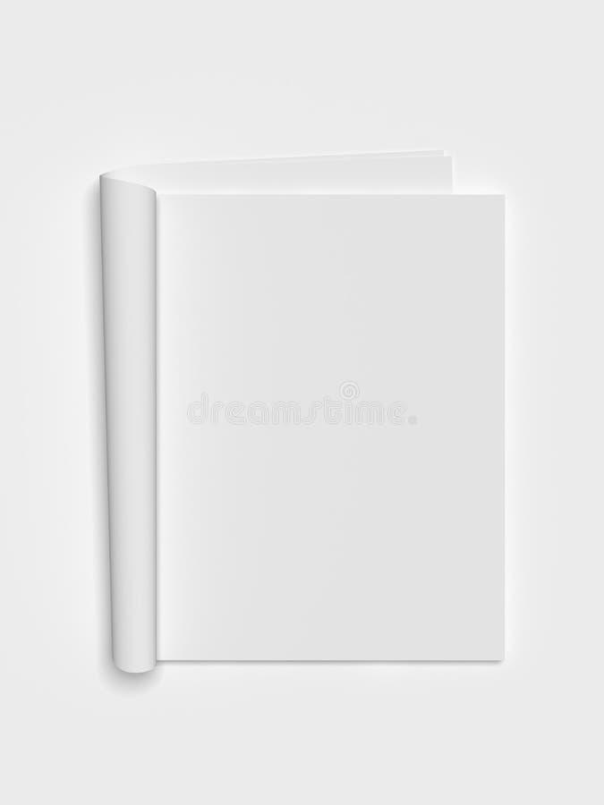 revue blanc illustration libre de droits