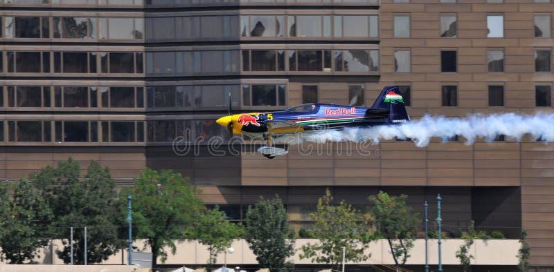 Revue de qualification Budapest 2009 de chemin d'air de Red Bull image libre de droits
