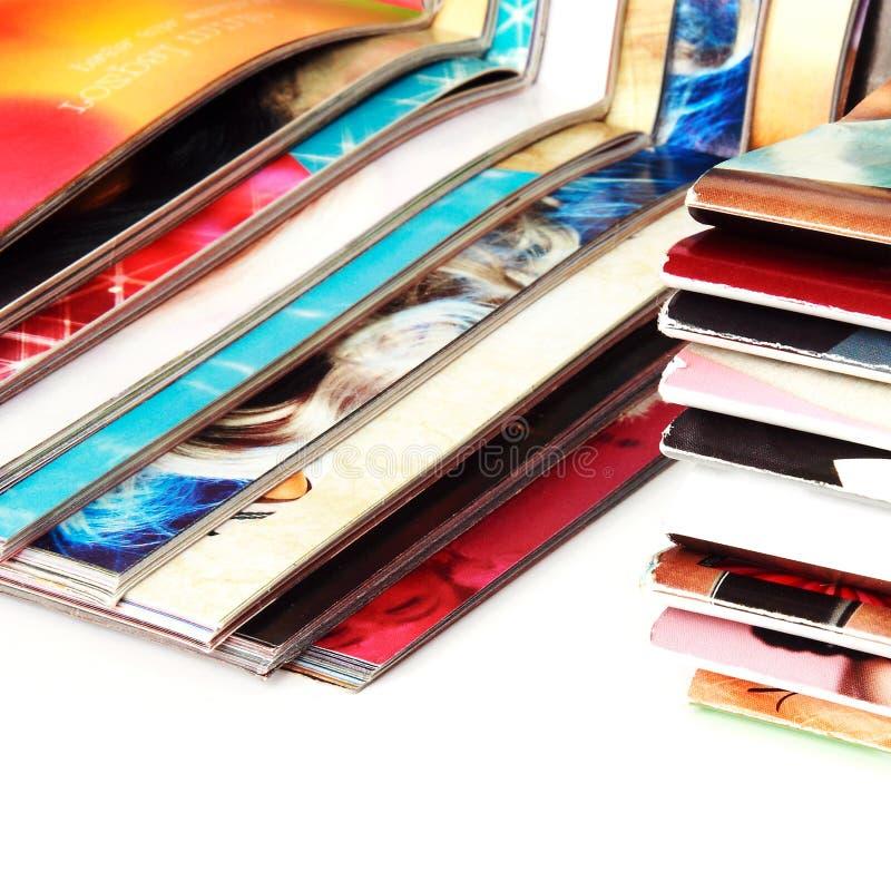 Revues colorées photo stock