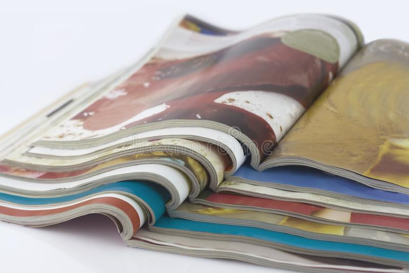 Revues colorées image libre de droits