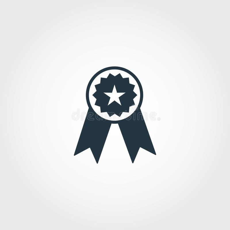 Reward icon. Premium monochrome design from education icon collection. Creative reward icon for web design and printing usage. Reward icon. Premium monochrome vector illustration