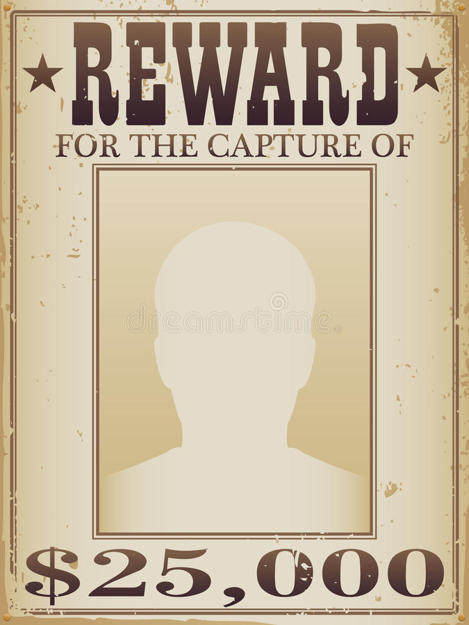 Free Reward Poster Stock Images - 17931364