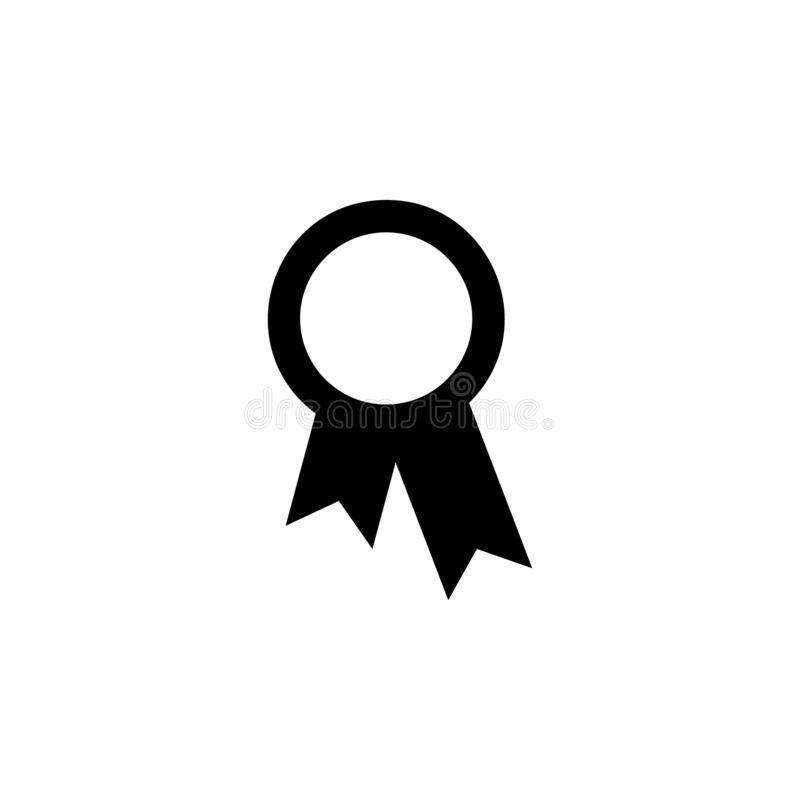 Reward, prize, premium, trophy, tribute, meed icon. Simple glyph, flat vector of Web icons for UI and UX, website or mobile. Application on white background stock illustration