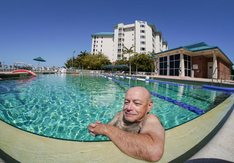 Download Rewards of Retirement stock photo. Image of water, poolside - 24450432