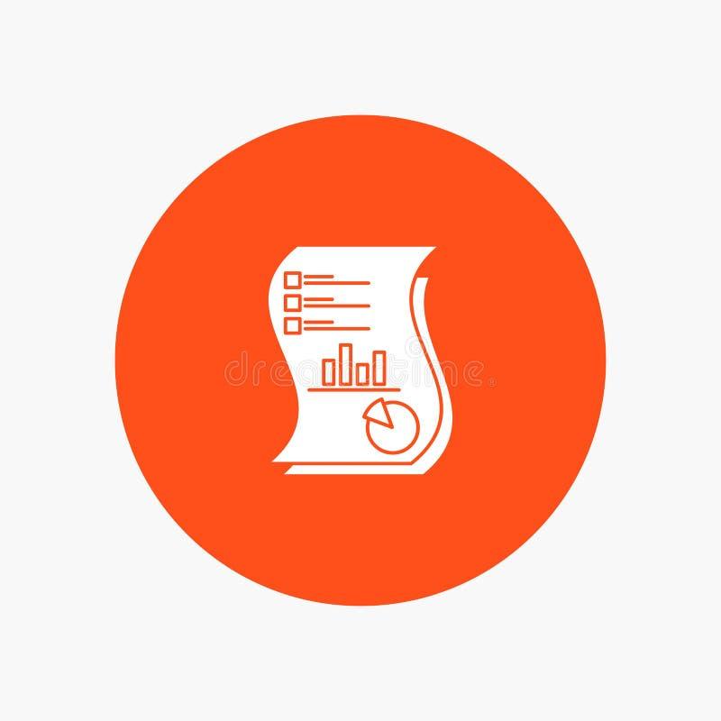 Rewizja, analityka, biznes, dane, marketing, papier, raport ilustracja wektor