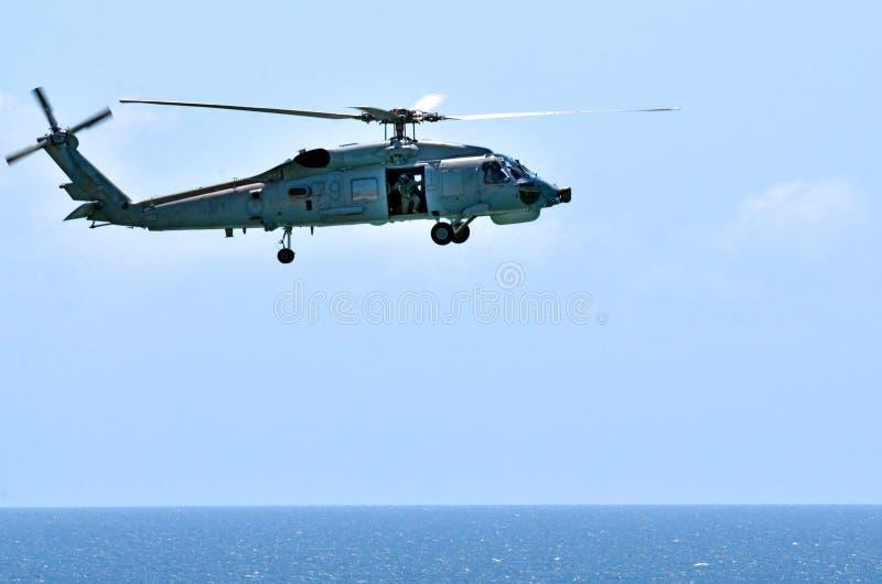 Rewizja i Ratuneku Helikopter zdjęcia stock