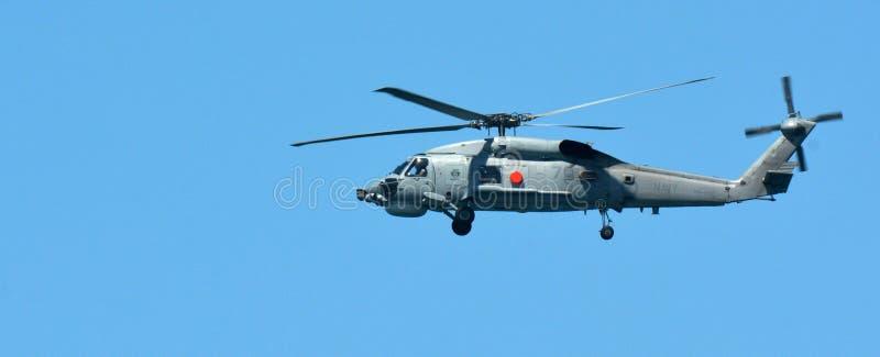 Rewizja i Ratuneku Helikopter zdjęcia royalty free