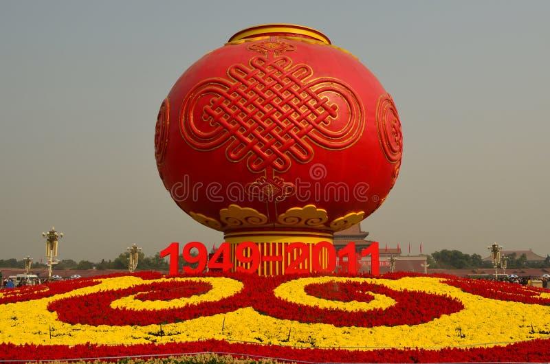 Rewolucja Kulturalna pomnik, plac tiananmen, Był fotografia stock