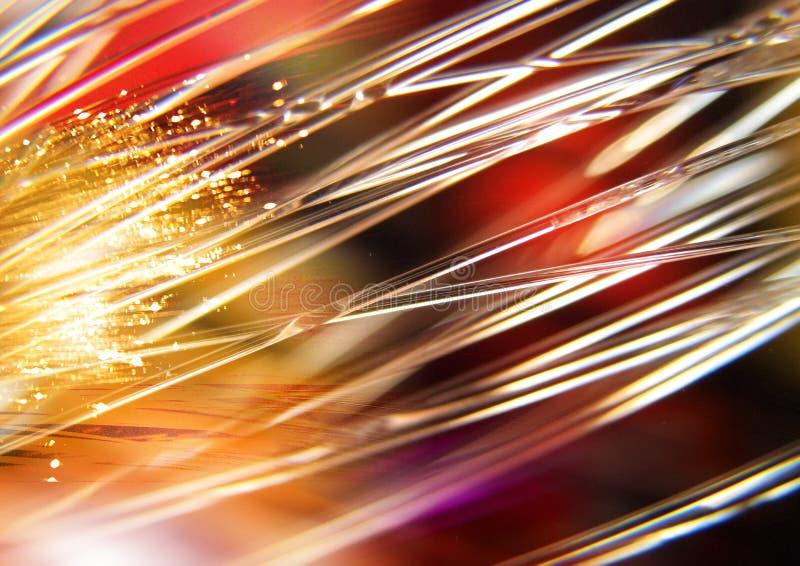 Rewolucjonistka, żółci światła i promienie na czarnym tle, textured oświetleniowym tle, Abstrakcjonistycznej teksturze i wzorze, zdjęcie stock