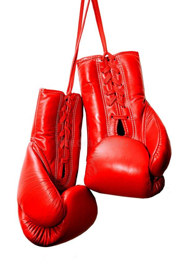 Rewolucjonistka boksuje rękawiczki obrazy royalty free
