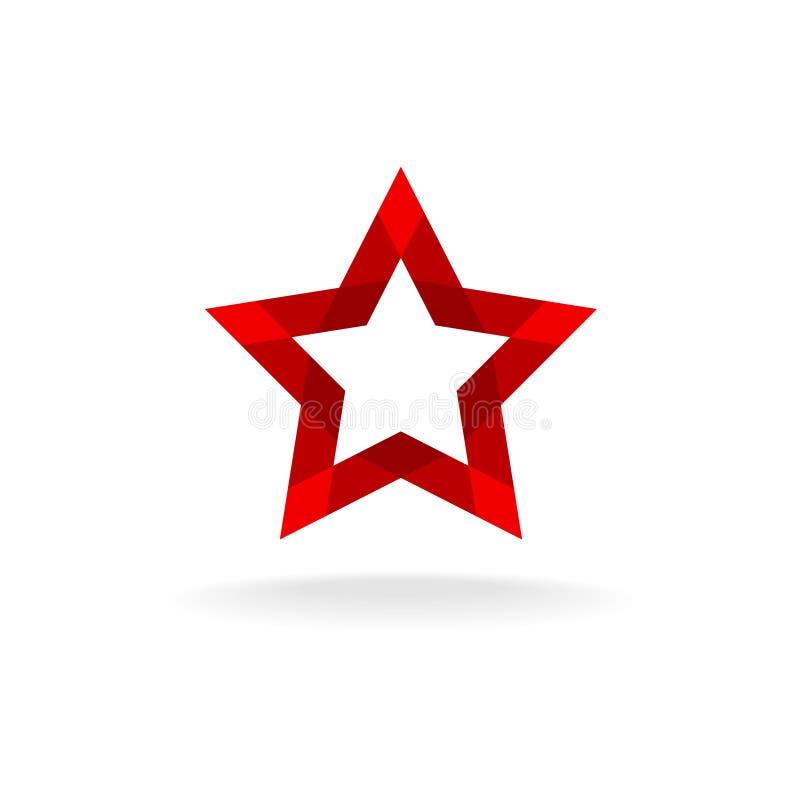 Rewolucjonistka Gwiazdowy logo ilustracji