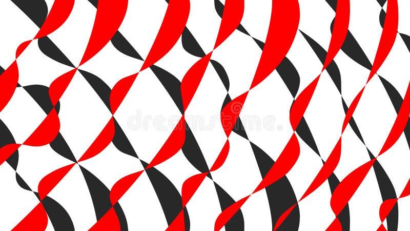 Rewolucjonistka i czerń wyginający się linii ilustracji tło ilustracji