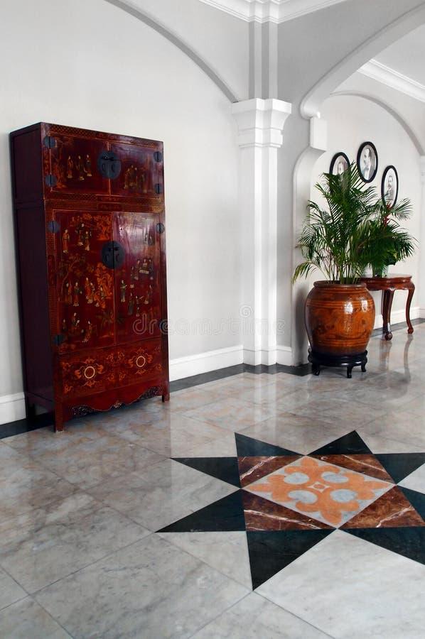 Rewolucjonistka lacquered klatka piersiowa, dziedzictwo hotelu wnętrze fotografia royalty free