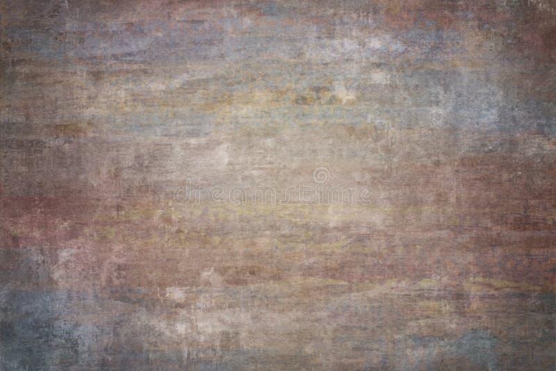 Rewolucjonistka malujący brezentowy lub muślinowy pracowniany tło obrazy stock