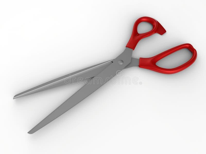 Rewolucjonistka odizolowywająca nożyce para ilustracji