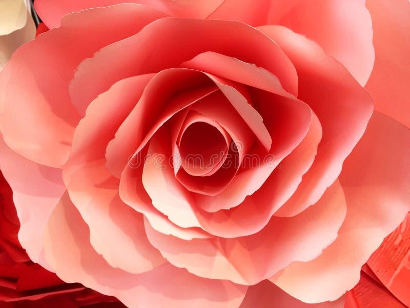 Rewolucjonistka papieru Różany tło obraz royalty free