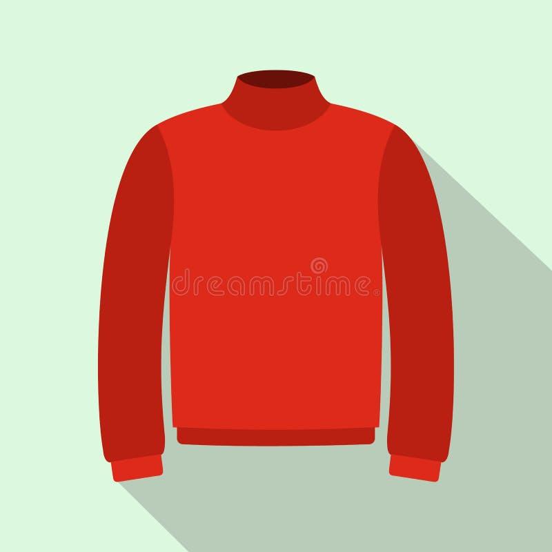 Rewolucjonistka puloweru ciepła ikona, mieszkanie styl royalty ilustracja