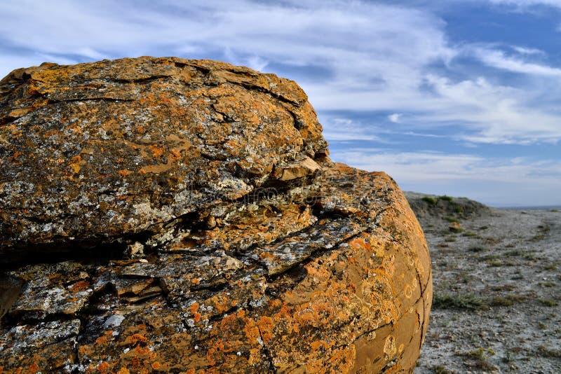 Rewolucjonistki Coulee Rockowy Naturalny teren zdjęcia royalty free