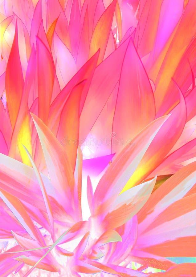 Rewolucjonistki i menchii liści trawy abstrakta tło obraz royalty free