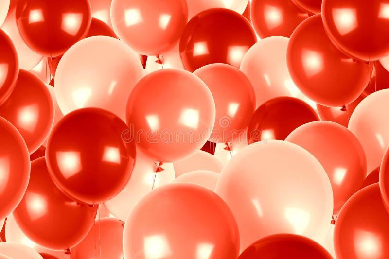 Rewolucjonistki i menchii przyjęcia balonów tło zdjęcie royalty free