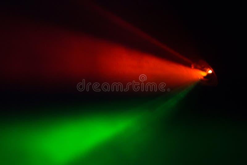 Rewolucjonistki i zieleni światło reflektorów obraz royalty free