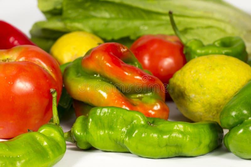 Rewolucjonistki i zieleni warzywa różni typ zdjęcia royalty free