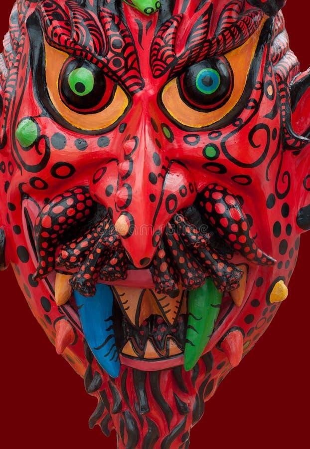 Rewolucjonistki maska w Quito, Ekwador obrazy stock