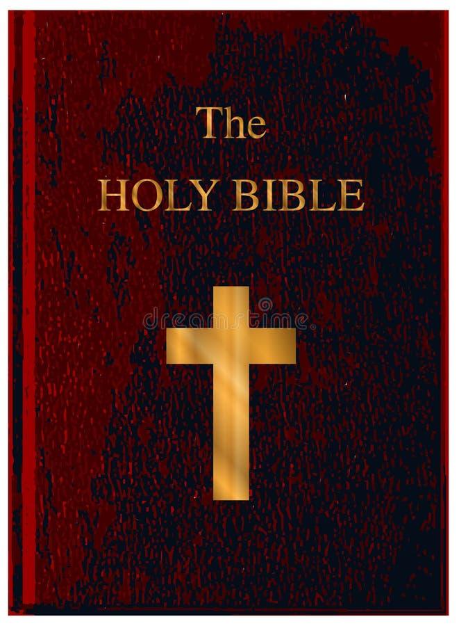 Rewolucjonistki Okładkowa Święta biblia royalty ilustracja