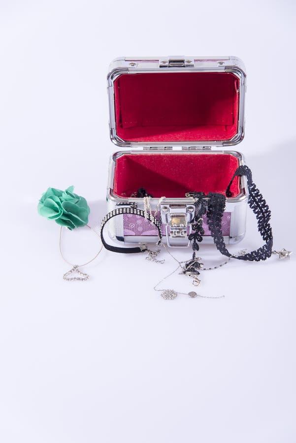 Rewolucjonistki pudełko z biżuterią fotografia stock