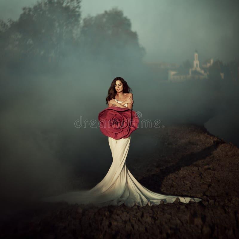 Rewolucjonistki róży moda obraz royalty free