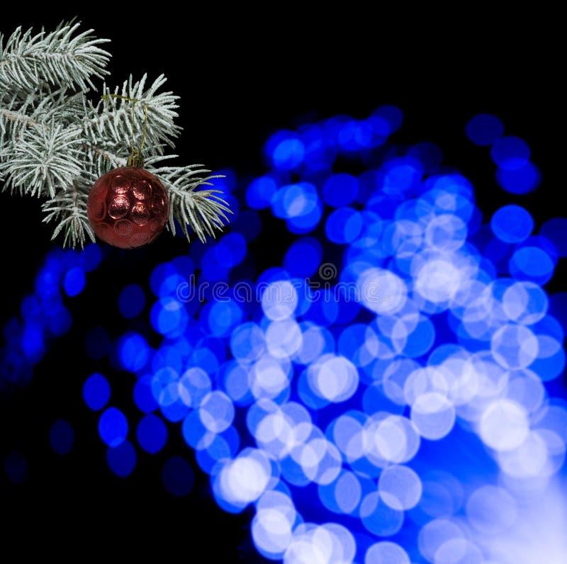 Rewolucjonistki xmas ornamenty na czarnym tle Wesoło kartka bożonarodzeniowa Zima wakacje temat szczęśliwego nowego roku, Przestr obraz stock