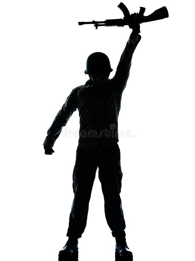 Rewolucyjny wojska żołnierza mężczyzna zdjęcia royalty free