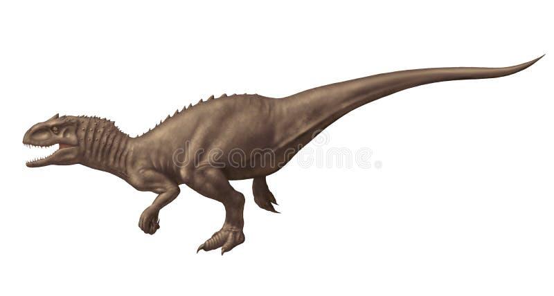 Rex που απομονώνεται Indominus στοκ εικόνα