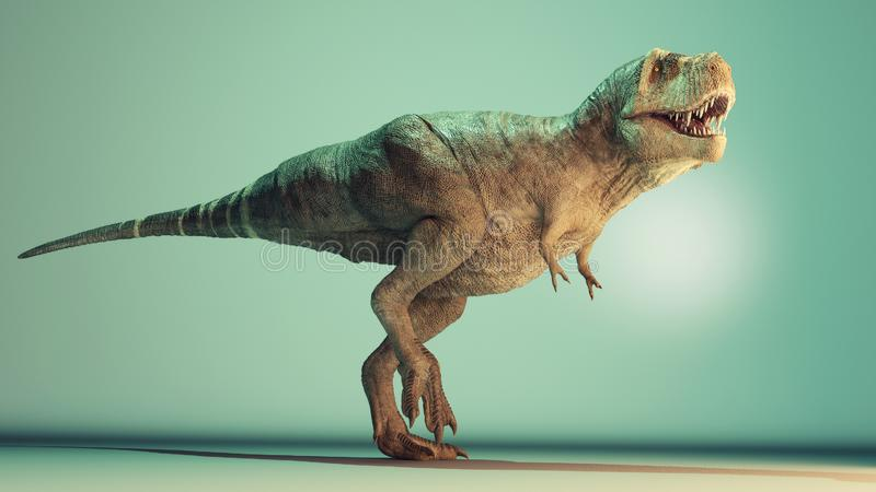 Rex de T en el estudio libre illustration