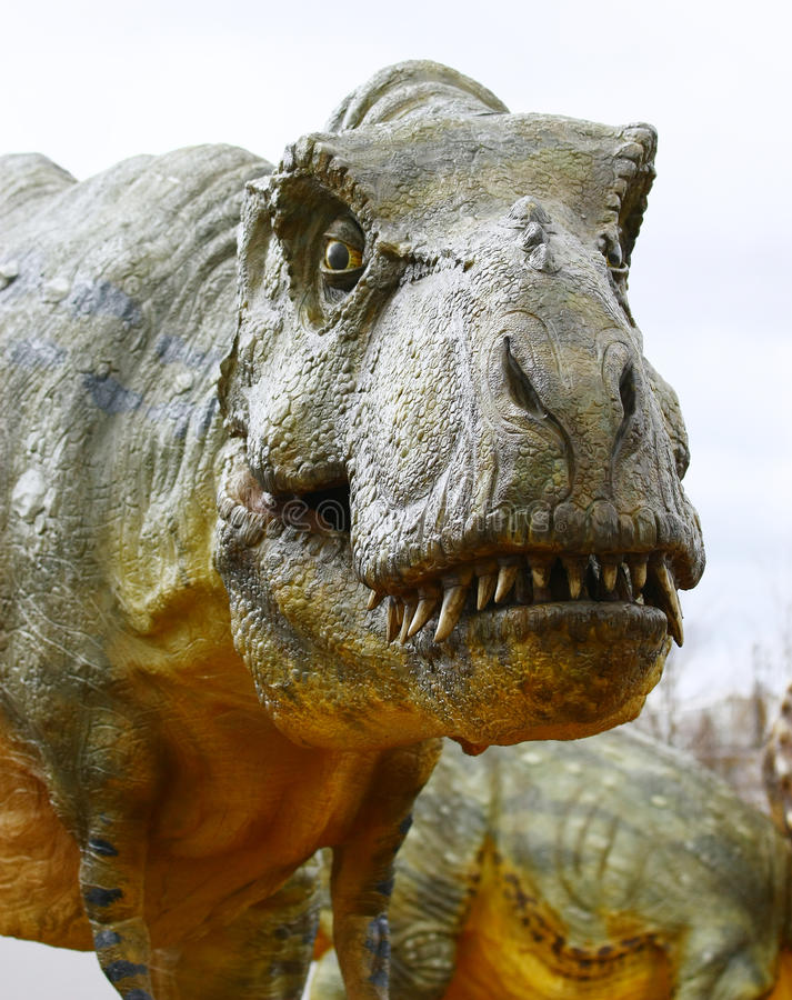 Rex de Tyrannosaurus de dinosaur photo stock