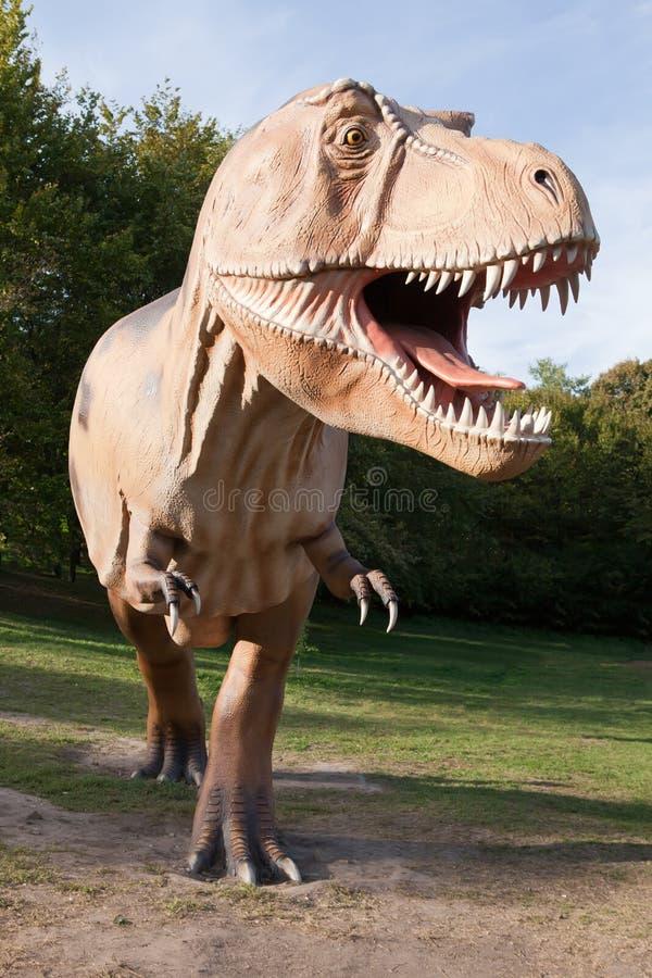 Rex de tyrannosaurus de dinosaur de reptile photo libre de droits